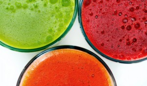 Fresh juices are great for a Spring cleanse