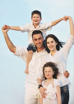 Picture of family who have benefitted from having Acupuncture